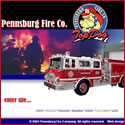 Custom Websites - Pennsburg Fire Co.